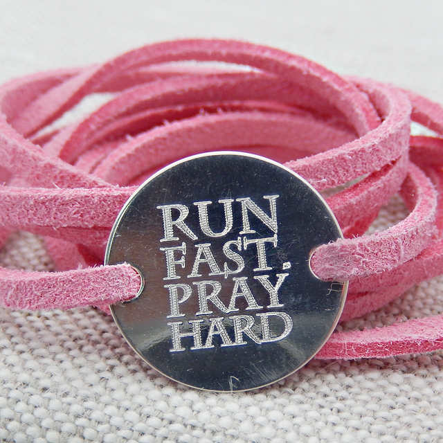 Run Fast. Pray Hard.