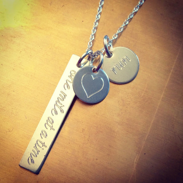ESD Running Day Necklace
