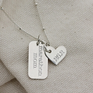 Marathon Mom Necklace