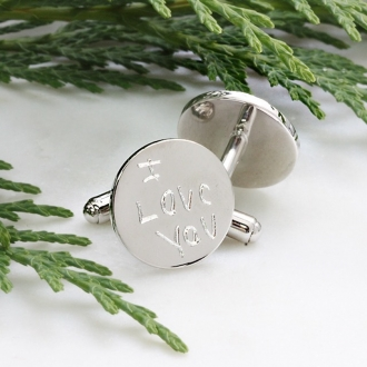 Love Note Cufflinks