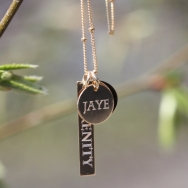 Name & Mantra Necklace